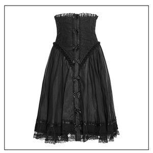 High-waisted Goth corset skirt Killstar Hot Topic